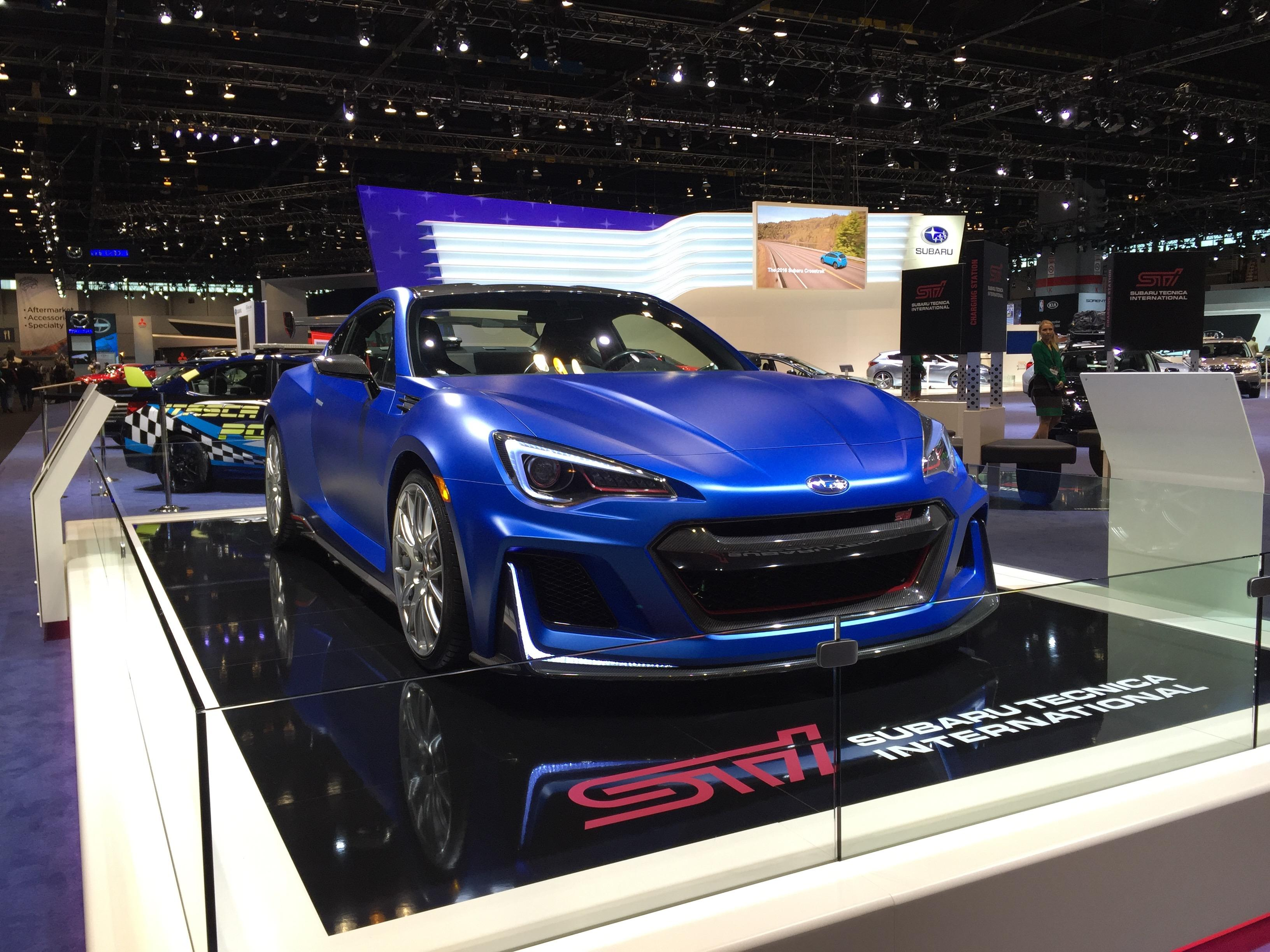 Cool Cars At The 2016 Chicago Auto Show News Weather